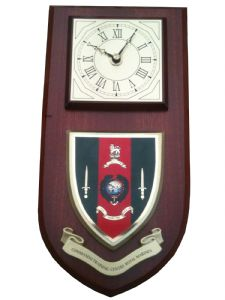 Commando Training Centre CTC Royal Marines  Regimental Wall Plaque Clock